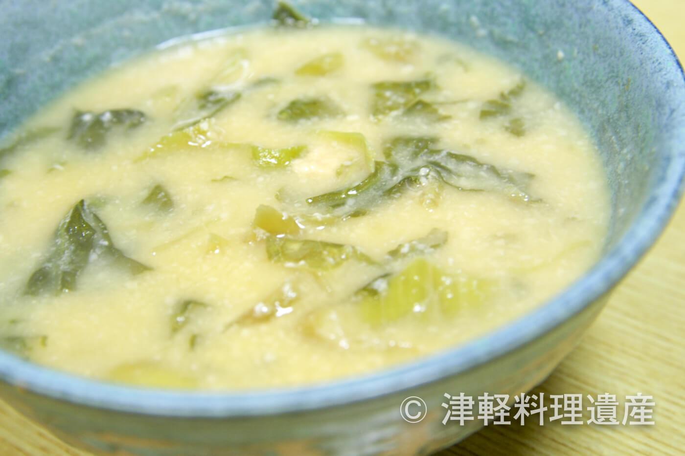 高菜の粕汁